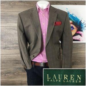 Ralph Lauren Mens Blazer Sport Coat Jacket Wool